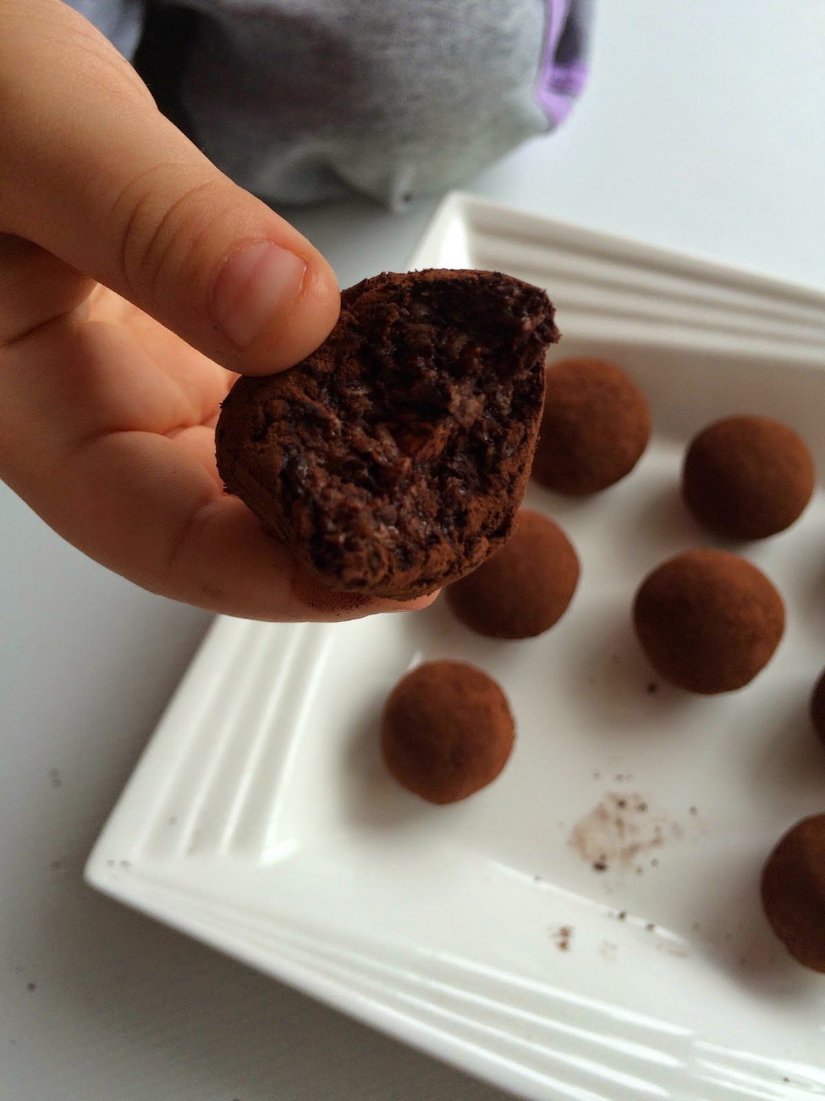 Muzlu Çikolatalı Truff Tarifi